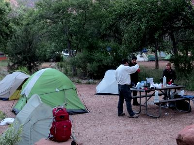 Bus Camping & Day Hikes